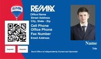 Re max real estate business cards qr code with photo for Best remax business cards