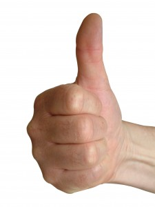 Real Estate Postcard Marketing gets a THUMBS UP!