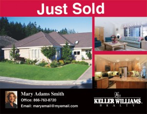 Just Sold Real Estate Post Card
