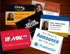 Real Estate Folded Note Cards
