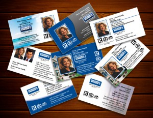 Start a conversation and make a good impression with effective real real estate cards effective real estate business reheart Gallery