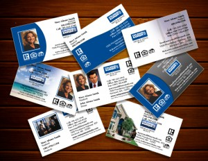 Well designed real estate business cards can be a powerful branding successful real estate agents used impressionable real estate business cards to rise above the competition business cards may be small in size but they are reheart Choice Image