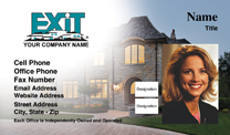 Exit realty business cards exit realty business card with photo colourmoves