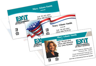Exit realty business cards exit real estate business cards colourmoves