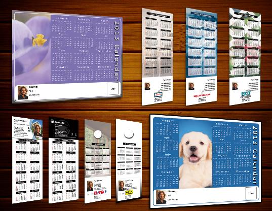Real Estate Calendar Design : Real estate calendars personal promotion online designs