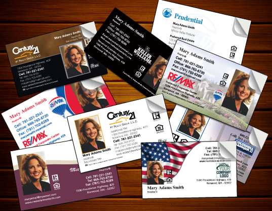 Real Estate Business Card Stickers - Creative Personal Promotion ...