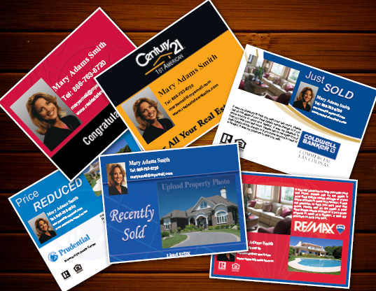 Real Estate Postcards