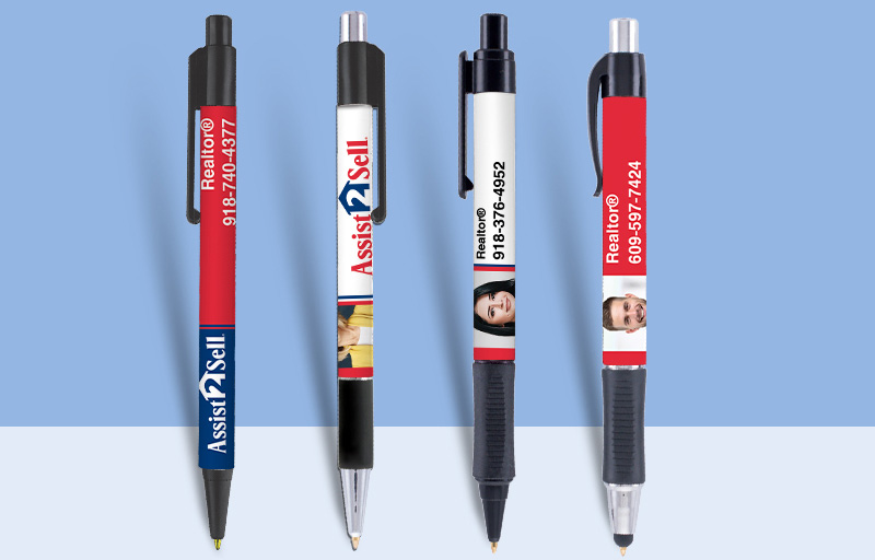 Assit2Sell Real Estate Pens - Assit2Sell Real Estate personalized promotional products | BestPrintBuy.com