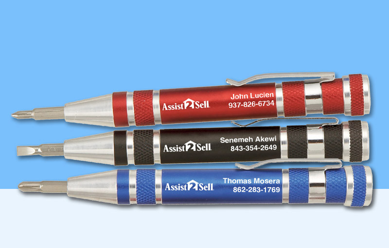 Assit2Sell Real Estate Screwdrivers - Assit2Sell Real Estate personalized promotional products | BestPrintBuy.com
