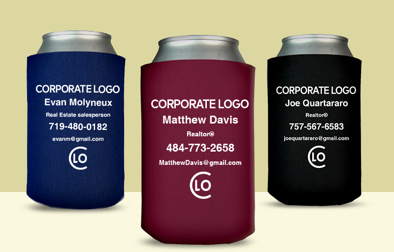 Century 21 Real Estate Economy Can Coolers - Century 21 personalized promotional products | BestPrintBuy.com