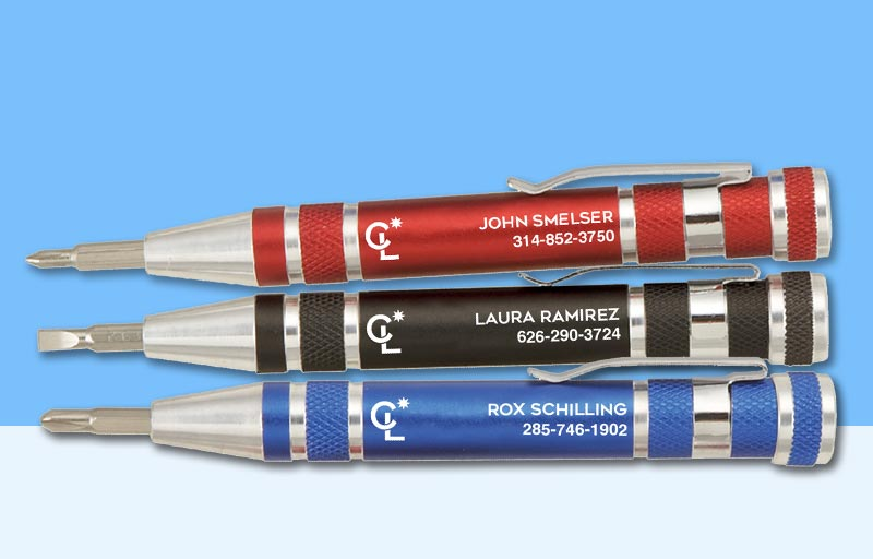 Coldwell Banker Real Estate Screwdrivers - Coldwell Banker personalized promotional products | BestPrintBuy.com