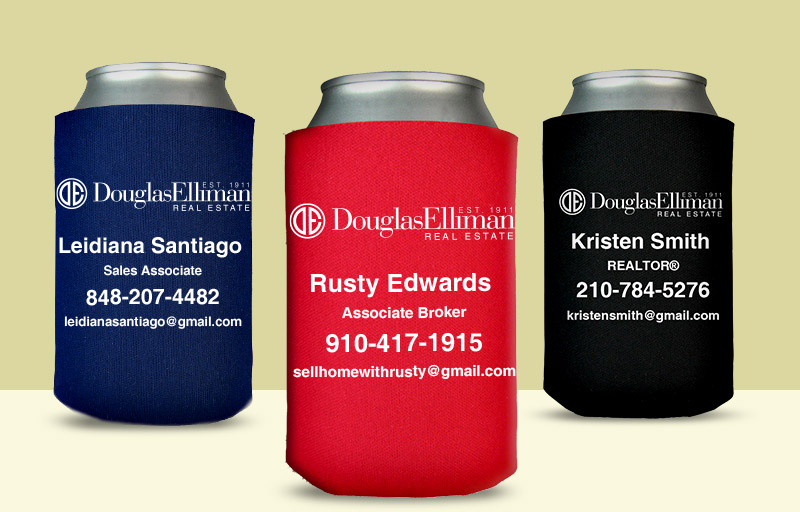 Douglas Elliman Real Estate Economy Can Coolers - Douglas Elliman Real Estate personalized promotional products | BestPrintBuy.com