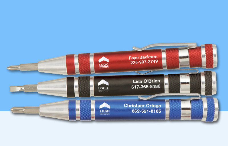 ERA Real Estate Screwdrivers - ERA Real Estate personalized promotional products | BestPrintBuy.com