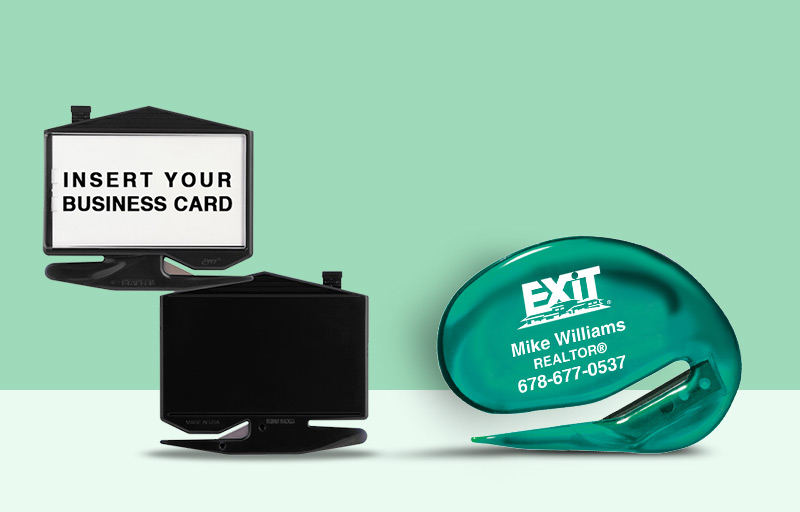 Exit Realty Real Estate Letter Openers - Exit Realty approved vendor personalized promotional products | BestPrintBuy.com