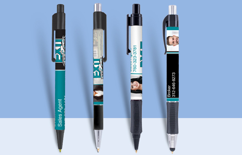 Exit Realty Real Estate Pens - Exit Realty approved vendor personalized promotional products | BestPrintBuy.com