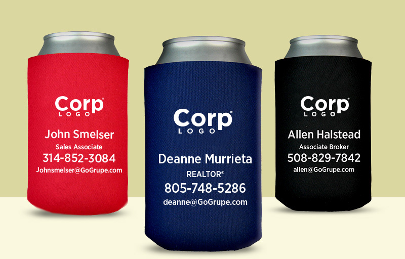 eXp Realty Real Estate Can Cooler - eXp Realty personalized promotional products | BestPrintBuy.com