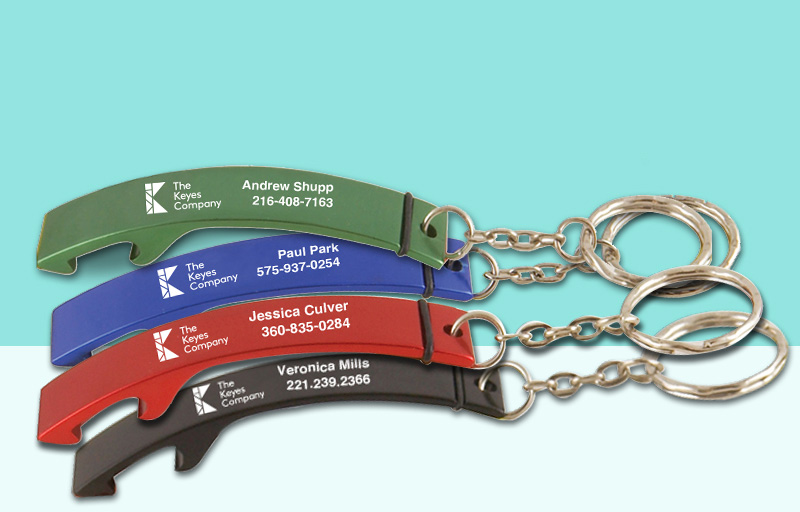 The Keyes Company Real Estate Bottle Opener - The Keyes Company  personalized promotional products | BestPrintBuy.com