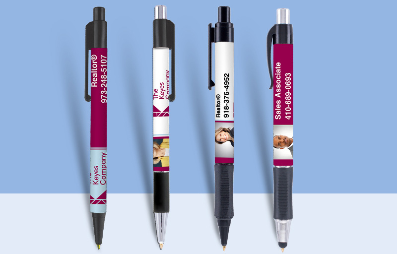 The Keyes Company Real Estate Pens - The Keyes Company personalized promotional products | BestPrintBuy.com
