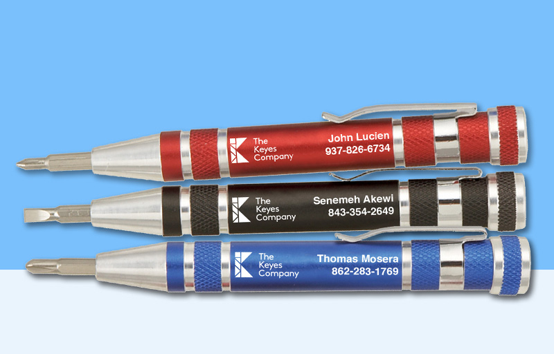 The Keyes Company Real Estate Screwdrivers - The Keyes Company personalized promotional products | BestPrintBuy.com