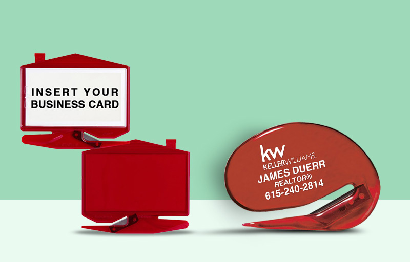 Keller Williams Real Estate Letter Openers - KW approved vendor personalized promotional products | BestPrintBuy.com