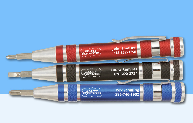 Realty Executives Real Estate Screwdrivers - Realty Executives personalized promotional products | BestPrintBuy.com