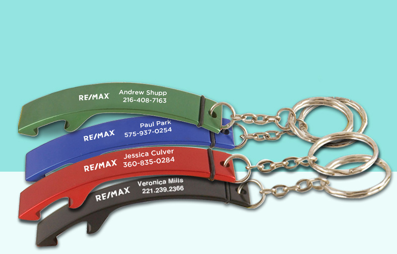 RE/MAX Real Estate Bottle Opener - RE/MAX  personalized promotional products | BestPrintBuy.com