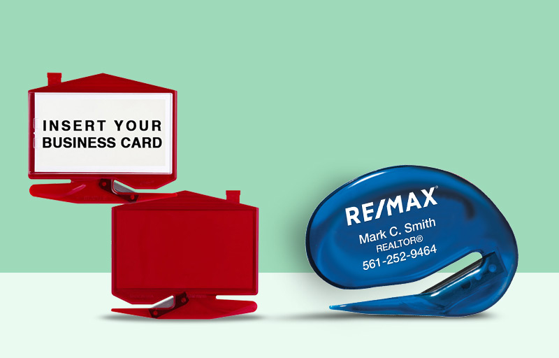 RE/MAX Real Estate Letter Openers - RE/MAX personalized promotional products | BestPrintBuy.com
