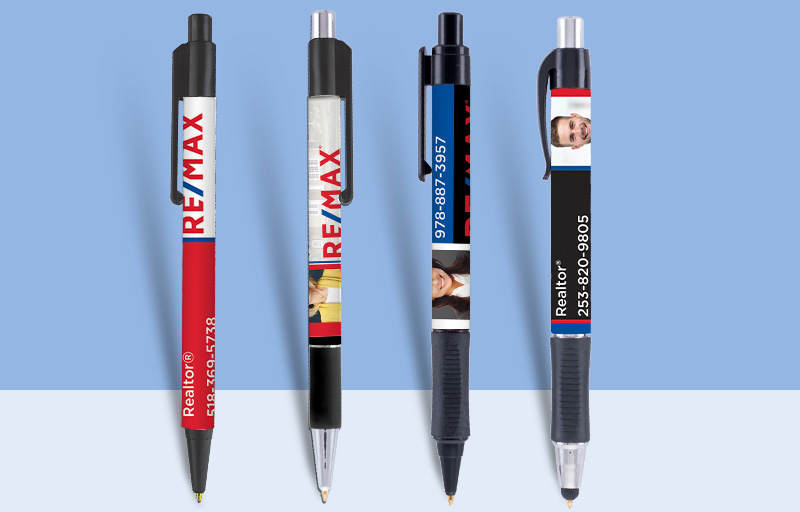 RE/MAX Real Estate Pens - RE/MAX personalized promotional products | BestPrintBuy.com