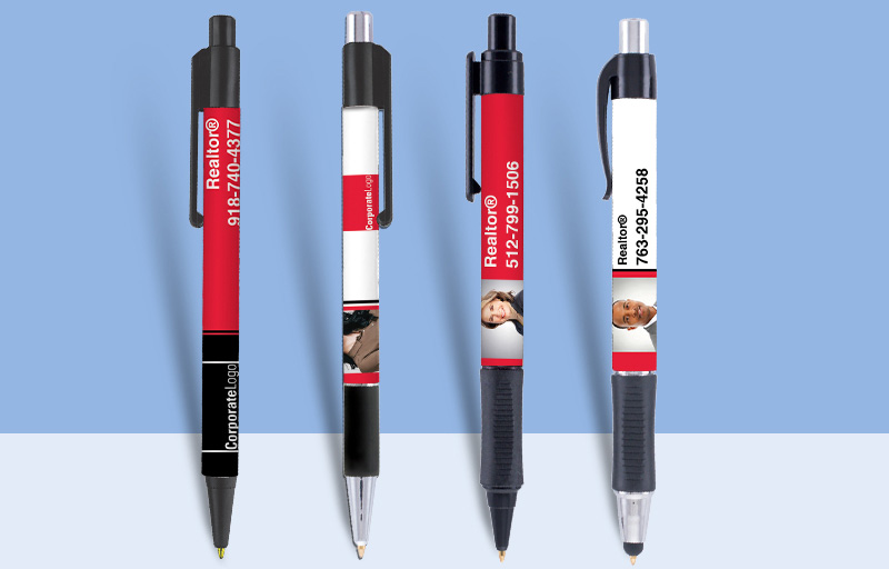 Real Living Real Estate Pens - Real Living Real Estate personalized promotional products | BestPrintBuy.com