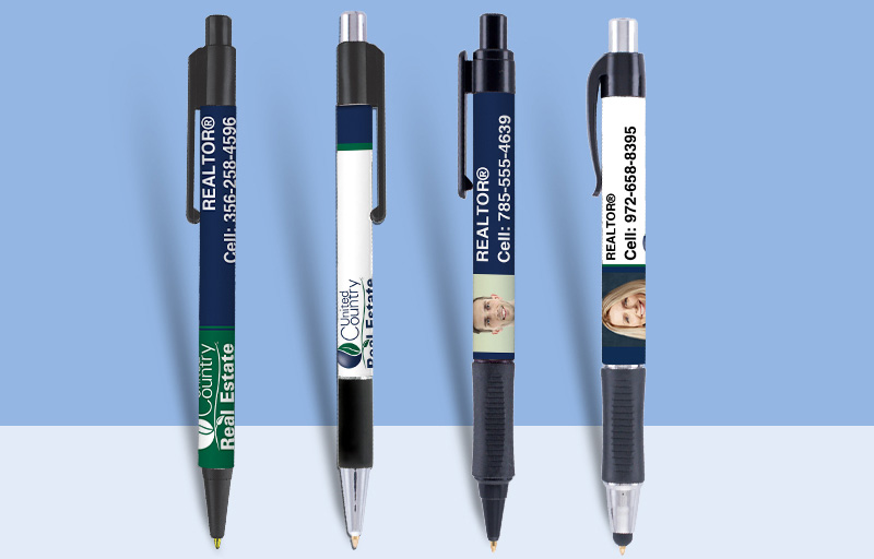 United Country Real Estate Pens - United Country Real Estate personalized promotional products | BestPrintBuy.com