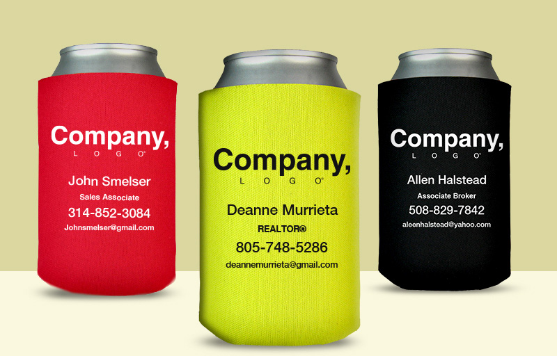 Weichert Real Estate Economy Can Coolers - Weichert personalized promotional products | BestPrintBuy.com