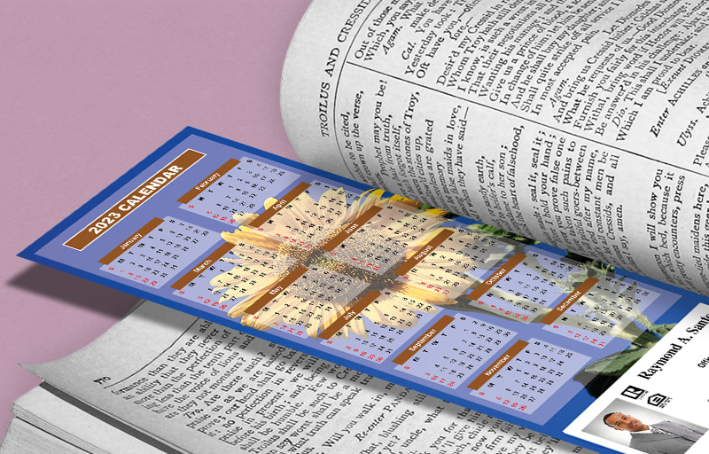 Assist2Sell Real Estate Calendar Bookmarks - Assist2Sell Real Estate  2019 calendars | BestPrintBuy.com