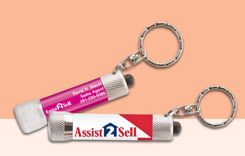 Assit2Sell Real Estate Flashlights - Assit2Sell Real Estate personalized promotional products | BestPrintBuy.com