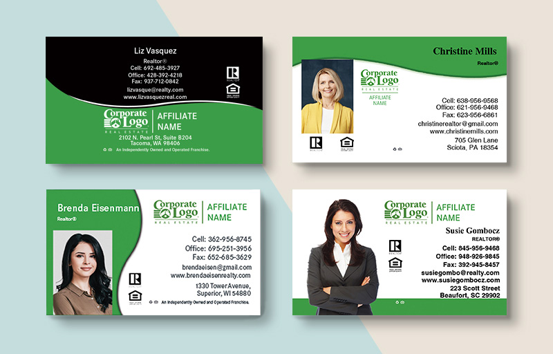 Better Homes and Gardens Real Estate Business Card Magnets - BHGRE magnets with photo and contact info | BestPrintBuy.com
