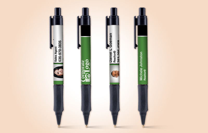 Better Homes and Gardens Real Estate Grip Write Pens - BHGRE promotional products | BestPrintBuy.com