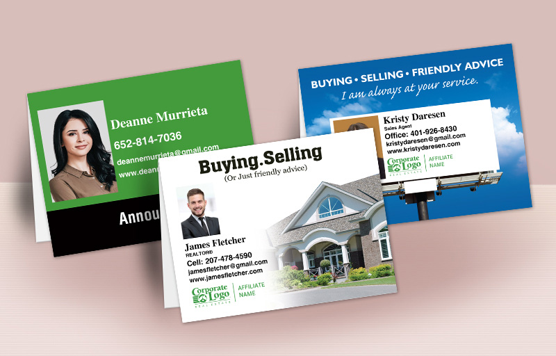Better Homes and Gardens Real Estate  Personalized Folded Note Cards - BHGRE custom stationery | BestPrintBuy.com