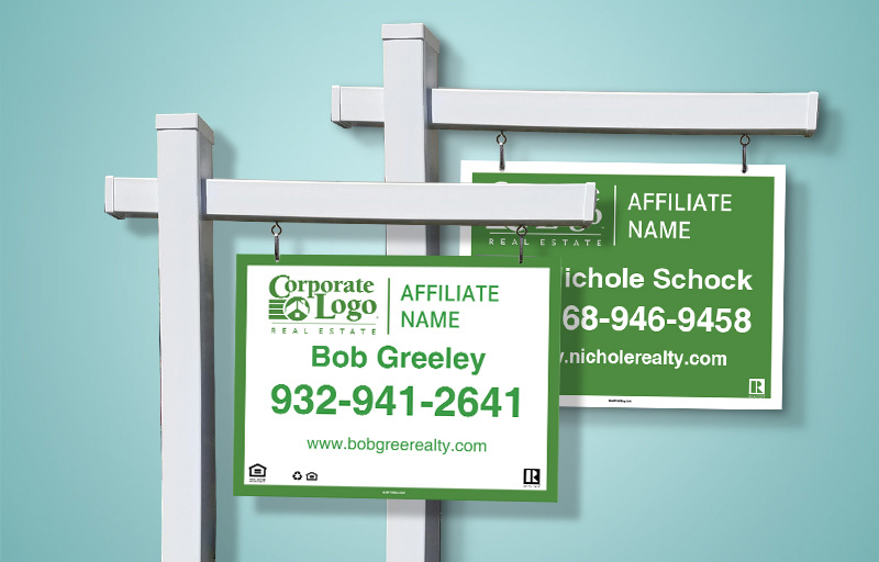 Better Homes and Gardens Real Estate Sign Panels - Better Homes and Gardens real estate signs | BestPrintBuy.com