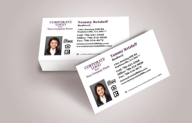 Berkshire Hathaway Real Estate Business Card Magnets With Photo - Berkshire Hathaway  personalized marketing materials | BestPrintBuy.com