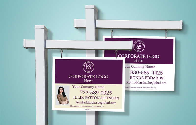 Berkshire Hathaway Real Estate Sign Panels - Berkshire Hathaway real estate signs | BestPrintBuy.com