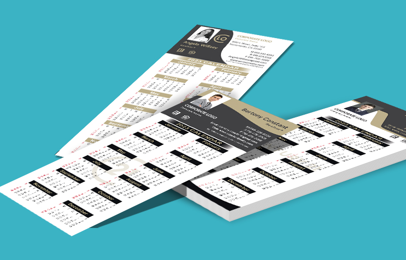 Century 21 Real Estate Business Card Calendar Magnets With Photo - Century 21 personalized marketing materials | BestPrintBuy.com