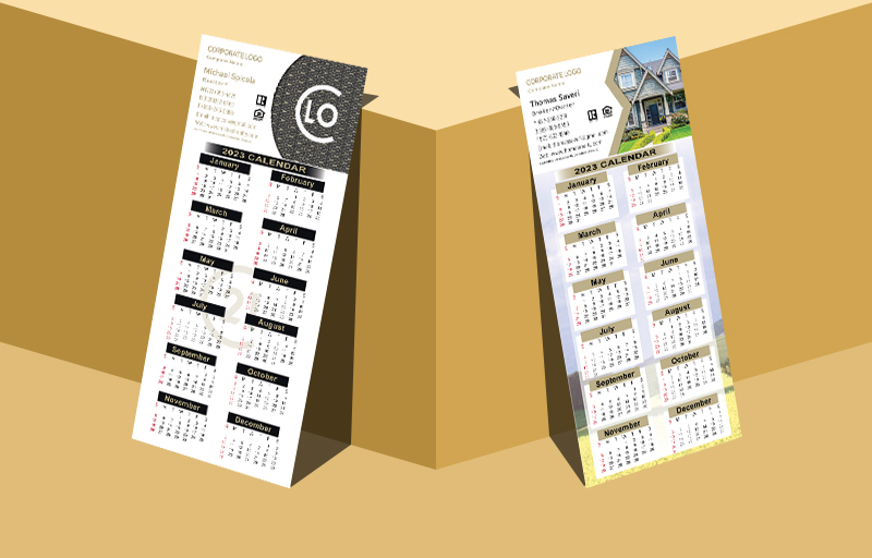 Century 21 Real Estate Business Card Calendar Magnets Without Photo - Century 21 personalized marketing materials | BestPrintBuy.com