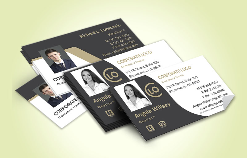 Century 21 Business Card Labels Stickers Glossy Thick Online