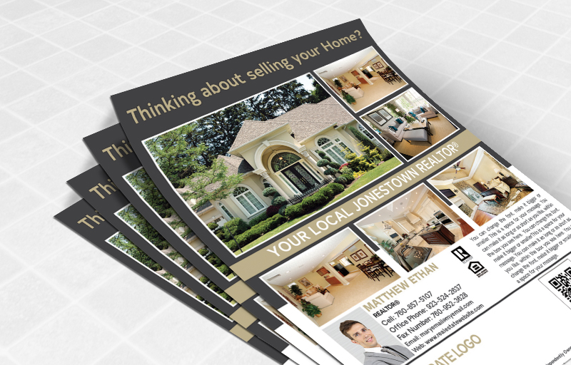 Century 21 Real Estate Flyers and Brochures - Century 21 one-sided flyer templates for open houses and marketing | BestPrintBuy.com
