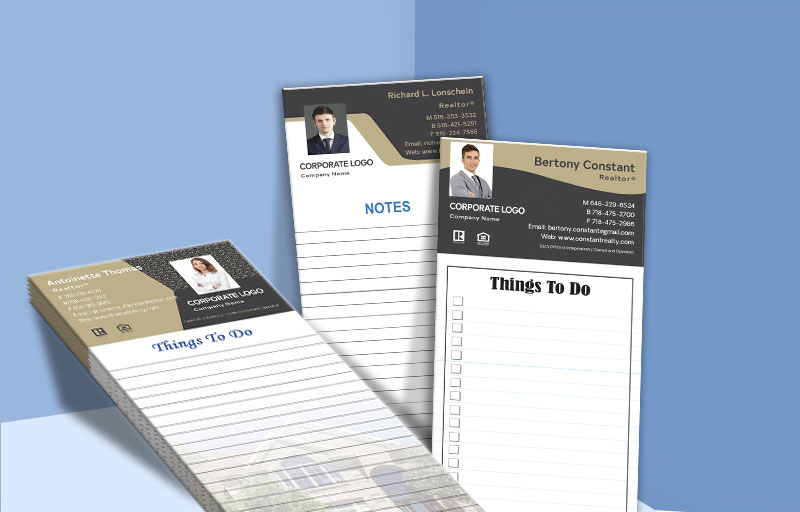 Century 21 Real Estate Personalized Notepads - Century 21 custom stationery and marketing tools | BestPrintBuy.com