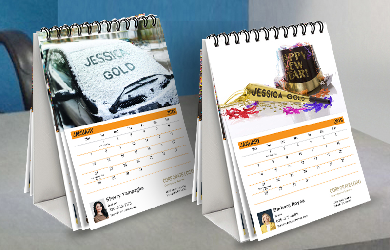 Century 21 Real Estate WOW! Desk Calendars - Century 21 custom personalized marketing materials | BestPrintBuy.com