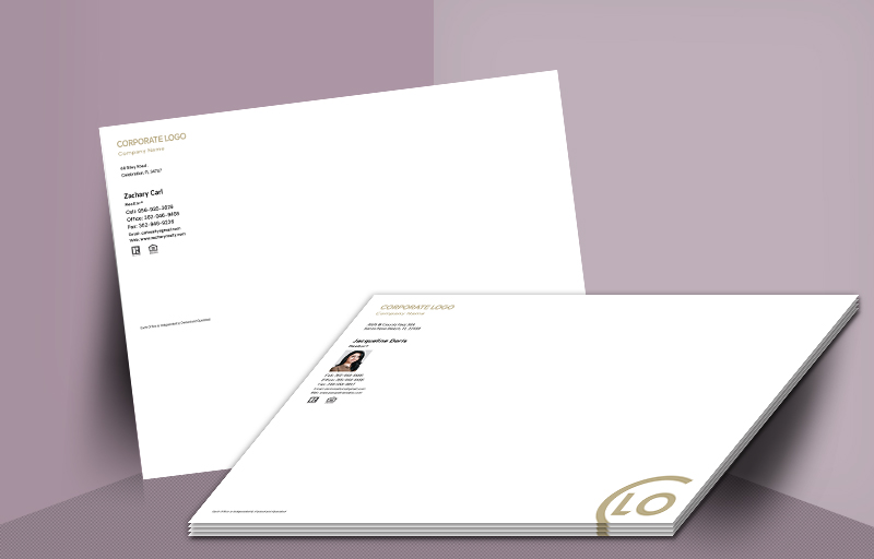 Century 21 Real Estate Agent Envelopes - 10 X 13 - Century 21  Custom 10 x 13 document envelopes for Realtors, real estate agent envelopes | BestPrintBuy.com