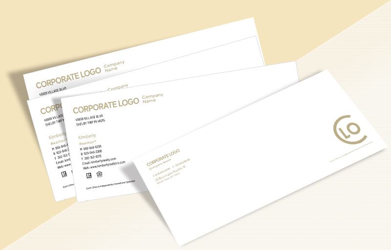 Century 21 Real Estate #10 Envelopes - Century 21 Custom #10 Envelopes Stationery for Realtors | BestPrintBuy.com