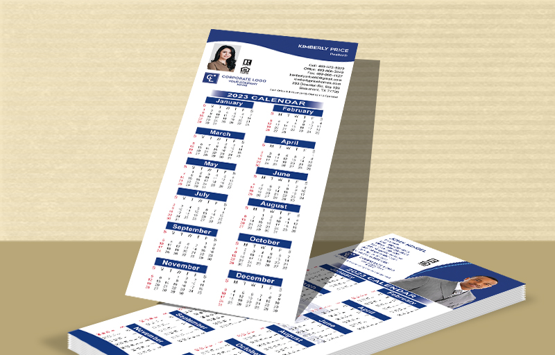 Coldwell Banker Real Estate Business Card Calendar Magnets - Coldwell Banker  2019 calendars | BestPrintBuy.com
