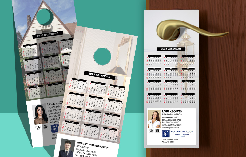 Coldwell Banker Real Estate Calendar Door Hangers - Coldwell Banker 2019 calendars | BestPrintBuy.com