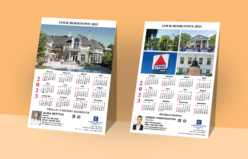 Coldwell Banker Real Estate Full Calendar Magnets With Photo Option - Coldwell Banker  2019 calendars | BestPrintBuy.com